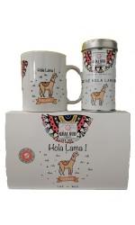Coffret Hola Lama 1 Mug + 1 Thé 65g