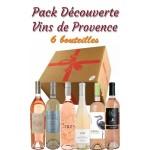 Pack découverte Rosé de provence - 45€ - 6 bts