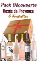 Pack découverte Rosé de Provence - 85€ - 6 bts