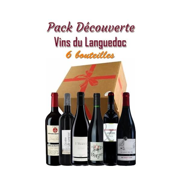 Pack découverte Languedoc - 55€ - 6 bts