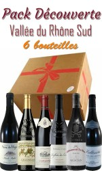 Pack découverte Rhône sud 6 bts