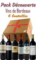 Pack découverte Bordeaux - 54€ - 6 bts