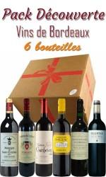 Pack découverte Bordeaux -115€ - 6 bts