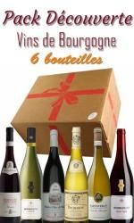 Pack découverte Bourgogne - 61.90€ - 6 bts