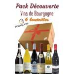 Pack découverte Bourgogne - 109.90€ - 6 bts