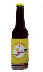 Bière blonde La Crapule 33cl 5° Brasserie des Maltfaiteurs