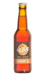 Bière Pleine Lune LUNIK AMBREE 5°75cl