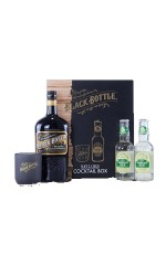 Coffret Black Bottle et Ginger cocktail box