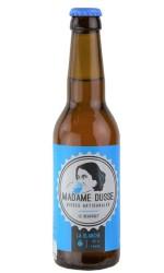 Bière blanche 75 cl Madame Dusse