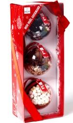Coffret mon Noël gourmand 3 boules