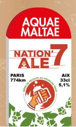 Aquae Maltae Nation Ale'7 33cl