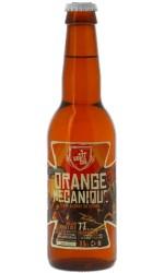 Bière Orange Mécanique Sainte Cru en 33cl