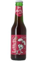 Bière levrette Cherry 3.5° 25 cl