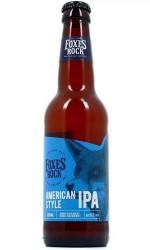 Bière Foxes Rock IPA 33cl 4.5%