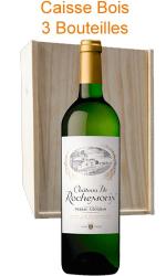 Caisse Bois 3 x Château Rochemorin blanc 2017