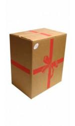 Boite carton cadeau : 6 bouteilles
