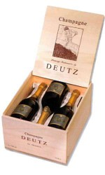 Caisse Bois 6 Deutz Brut Classic