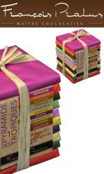 Chocolat 500g : Pyramide des Tropiques 10 tablettes 50g