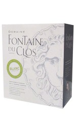 BIB 3 L VDP blanc Domaine Fontaine du Clos - Bag in Box