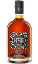 Coffret Rhum HSE réserve spéciale VSOP + 2 verres