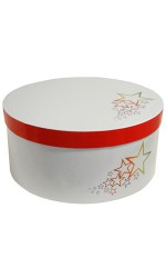 Boîte à chapeau blanc ESTRELLA