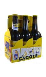 """Pack de 6 Bières Cagole 33cl """" Bière de Marseille """" 4.7%vol"""
