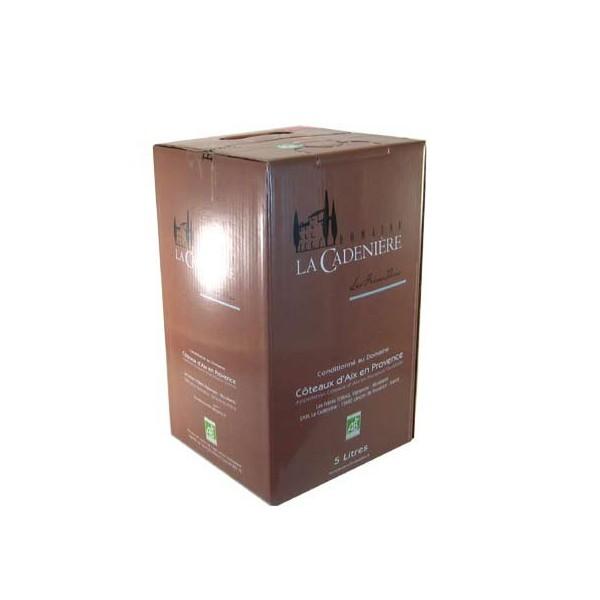 BIB 5 L rosé  Domaine de la Cadenière - Bag in Box