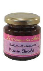 Confiture Poire au Chocolat 120 gr