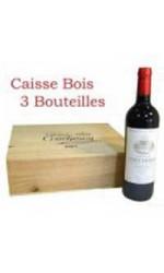 Caisse bois de 3 : Coucheroy rouge 2012