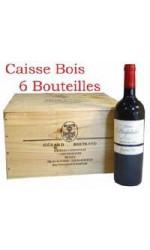 Caisse bois de 6 : Château Hospitalet grand vin 2012
