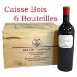 Caisse bois de 6 : Cigalus rouge 2012 Gérard Bertrand