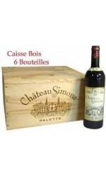 Caisse bois de 6 : Château Simone rouge 2011