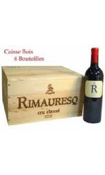 Caisse bois de 6 : R de  Rimauresq 2012