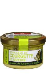 Concassé courgette asperge jambon basilic 90g