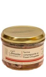 Terrine de campagne piment Espelette 180 gr
