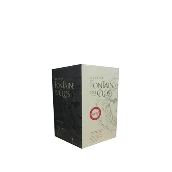 BIB 5 L rouge Domaine Fontaine du Clos - Bag in Box