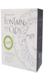 BIB 10 L VDP blanc Domaine Fontaine du Clos - Bag in Box