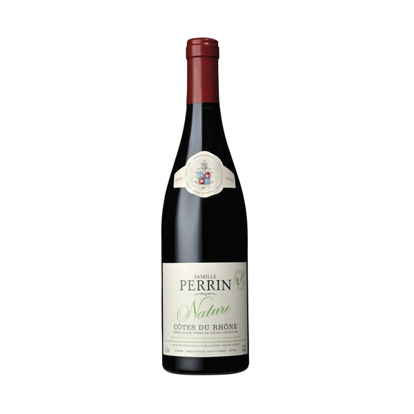 Côtes du Rhône Nature Famille Perrin rouge Bio 2018