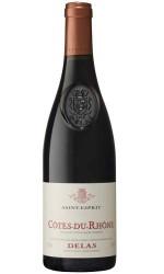 Delas : Côtes Du Rhône Saint Esprit rouge 2012