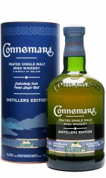 Connemara Single Malt Distiller's Edition 43°