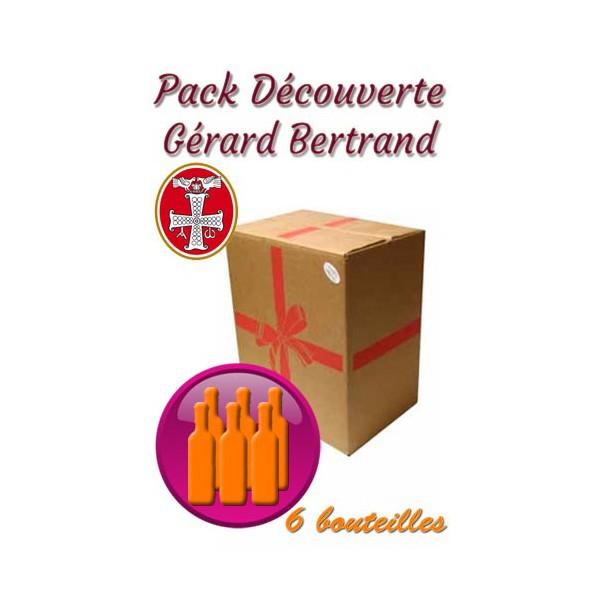 Pack découverte Gérard Bertrand 6 bouteilles