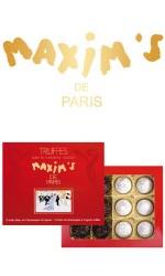 Etui 12 Truffes marc Champagne/Cognac 140g Maxim's