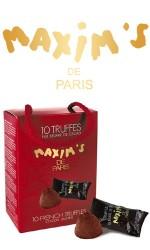 Ballotin 10 Truffes pur beurre cacao 85g Maxim's