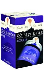 BIB 10L Côtes du Rhône rouge Camille Cayran