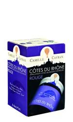 BIB 5L Côtes du Rhône rouge Camille Cayran