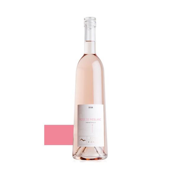 Piéblanc rosé  2018 aop Ventoux
