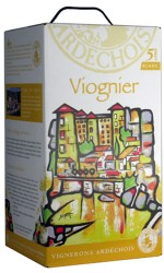 BIB 5 L blanc Viognier Ardechois - Bag in Box