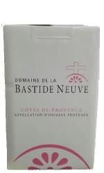 BIB rosé la Bastide Neuve 5L Côtes de Provence