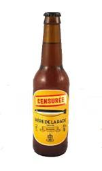 Bière blonde La Censurée 75 cl